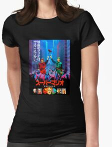 Super Mario Bros Movie - Japanese Poster Womens Fitted T-Shirt