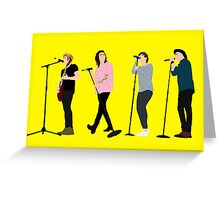 One Direction 8 Greeting Card