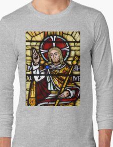 Stain Glass Window Long Sleeve T-Shirt