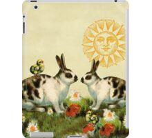 Bunnies and Chicks iPad Case/Skin