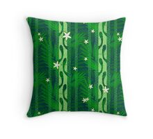 Out of Omoo Throw Pillow