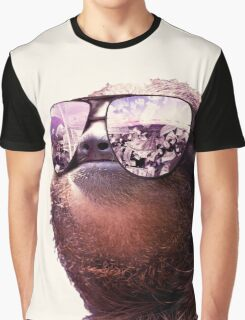 Rad Sloth Graphic T-Shirt
