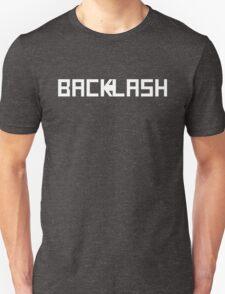 BACKLASH logo - white T-Shirt