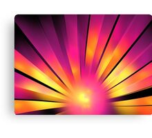 Magenta Sunrise Canvas Print