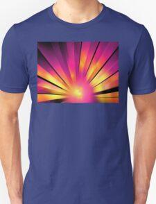Magenta Sunrise Unisex T-Shirt