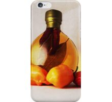 Peppers And Oil iPhone Case/Skin