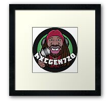 Nxtgen720 Caricature Framed Print