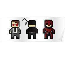 Daredevil Evolution Poster