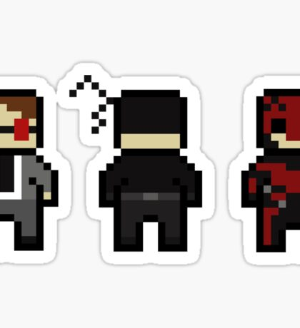 Daredevil Evolution Sticker