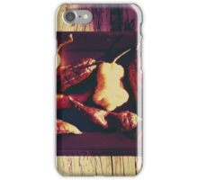 Vintage Ghost Chilies iPhone Case/Skin