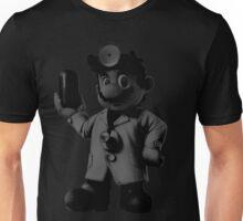 B&W Dr. Mario Unisex T-Shirt