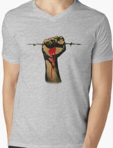 Frontline Mens V-Neck T-Shirt