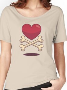 bone up on love Women's Relaxed Fit T-Shirt