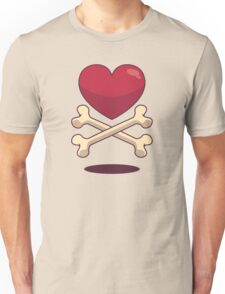 bone up on love Unisex T-Shirt