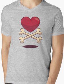 bone up on love Mens V-Neck T-Shirt