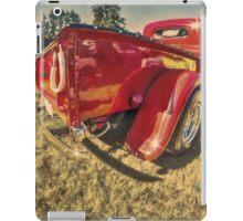Run Red iPad Case/Skin