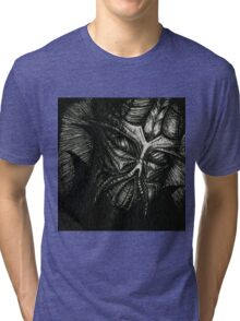 The Face of Darkness Tri-blend T-Shirt