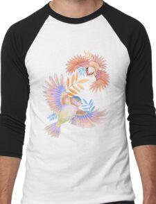 Birds of Paradise Men's Baseball ¾ T-Shirt
