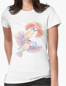 Birds of Paradise Womens Fitted T-Shirt