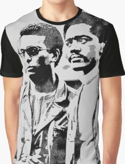 Stokely Carmichael and Bobby Seale Graphic T-Shirt