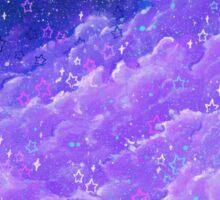 Pleasantly Purple Sticker