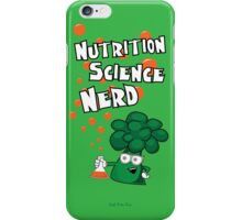 Nutrition Science Nerd iPhone Case/Skin