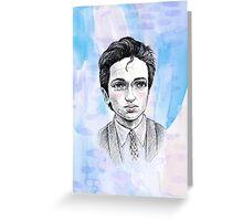 Sci-Fi boyfriend Mulder Greeting Card