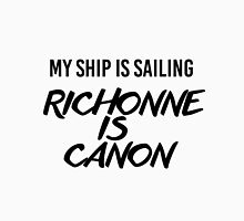 Richonne is canon. Unisex T-Shirt