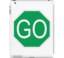 Go Sign iPad Case/Skin