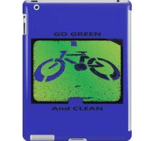 Green & Clean World iPad Case/Skin