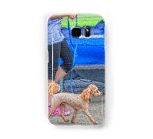 Walking the Dog Samsung Galaxy Case/Skin