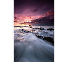 Maori Bay Seascape  Photographic Print