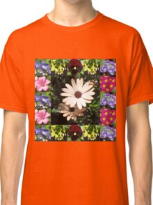 Bright and Beautiful - Floral Collage Classic T-Shirt
