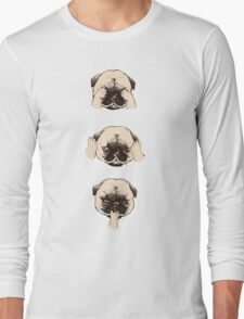 Pug memes Long Sleeve T-Shirt