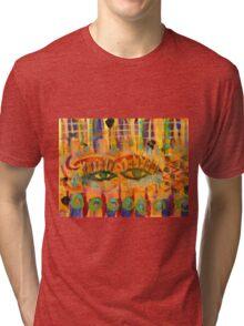 Keeping a Soulful Eye on You Tri-blend T-Shirt