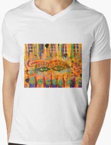 Keeping a Soulful Eye on You Mens V-Neck T-Shirt