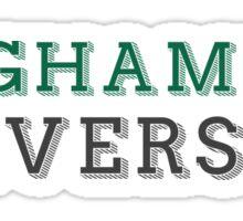 Binghamton University - DECORATIVE  Sticker