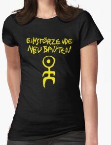 retro einsturzende neubauten Womens Fitted T-Shirt