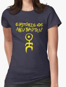 retro einsturzende neubauten Womens Fitted T-Shirt
