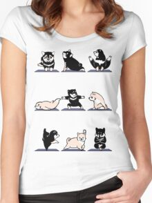 Shiba Yoga Women's Fitted Scoop T-Shirt