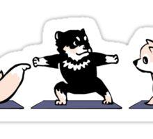 Shiba Yoga Sticker