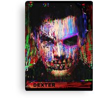 Dexter Morgan.The Quiet Ones. Canvas Print
