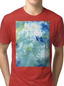 "Abstract - ""Listening"" Tri-blend T-Shirt"