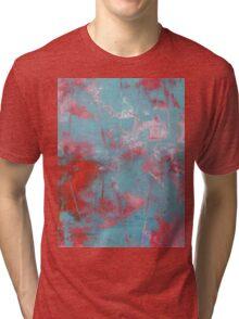 "Abstract - ""Loving"" Tri-blend T-Shirt"