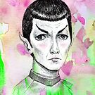 Sci-Fi boyfriend Spock by Brett Manning
