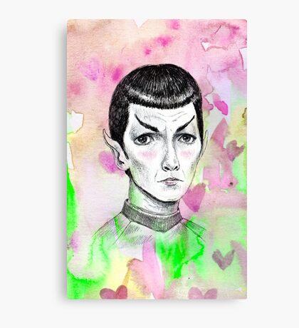 Sci-Fi boyfriend Spock Canvas Print
