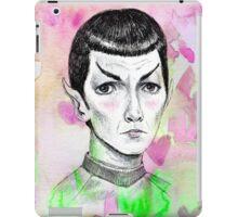 Sci-Fi boyfriend Spock iPad Case/Skin