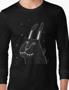 Night Bunny Moth Long Sleeve T-Shirt