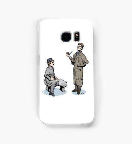 Victorian Sherlock and Watson Samsung Galaxy Case/Skin