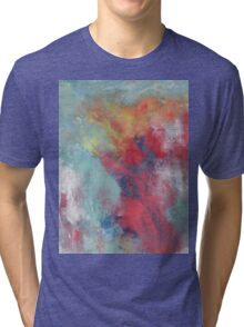 "Abstract - ""Waiting"" Tri-blend T-Shirt"